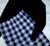 Тёплая вязанная юбка