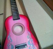 Гитара деревянная детская
