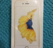 Новый IPhone 6s 16 gb Gold