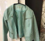 Куртка мятного цвета