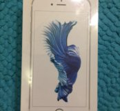Новый IPhone 6s 16 gb Silver