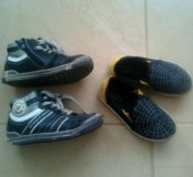 Ботинки +кеды на мальчика