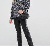 Новые кожаные брюки Newlily