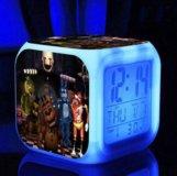 Часы будильник - пять ночей с Фредди, куб.