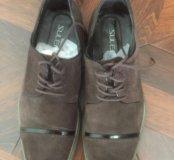 Туфли мужские замшевые.