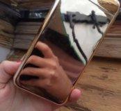 Чехол на айфон с выдвижным зеркалом