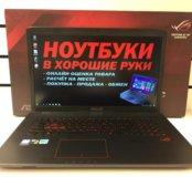 Мощный игровой ноутбук Asus ROG GL752VW
