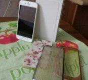 Iphone 6 golg 16gb, полный комплект