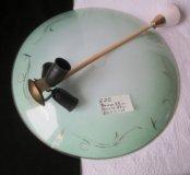 Люстра тарелка 60-е.года Винтаж