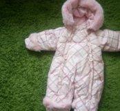 Комбинезон зимний детский пух - перо