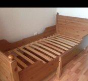 Детская раздвижная кровать ЛЕКСВИК Икеа IKEA