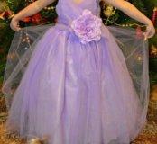 Шикарное платье на девочку 4-5 лет