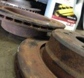 Тормозные диски задние е32 вентилируемые