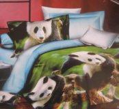 Качественное постельное белье Панда