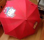Зонт HelloKitty детский подростковый,оригинал