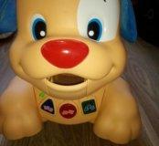 Развивающая игрушка щенок-каталка Fisher Prise
