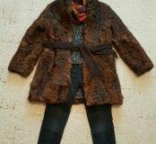 СРОЧНО Зимние вещи-шуба,3свитера,джинсы,шапка