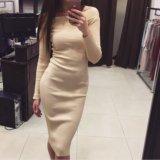 Платье лапша с эффектом утяжки