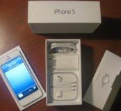 Iphone 5 сильвер