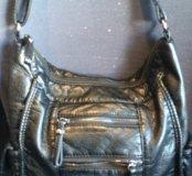 Новая сумочка,много отделов,кожа РU