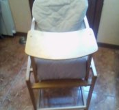 Детский стульчик со столиком