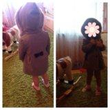 Детское пальто на девочку. Новое!