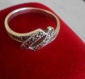 Кольцо серебро925, марказиты
