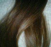 Волосы на капсулах 55-60 см 150капсул
