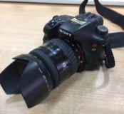 Зеркальный фотоаппарат Sony slt-a57.