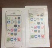 2шт. iphone 5S 16ГБ gold