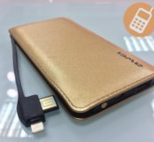 Акб-USB Awei P97k 8000mah золото