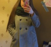 Пальто как новое Zara