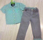 Костюм (джинсы + рубашка)