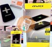 АКБ-USB AWEI P98k QI 7000mah черный