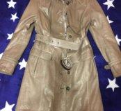 Плащ istnova Leather Collection 42-44 S Italy