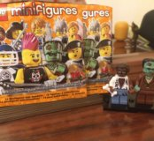 Lego мини фигурки 4 серия