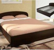Кровать ЛДСП (А) 1600 мм