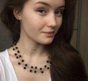 Ожерелье из проволоки для прекрасных дам!
