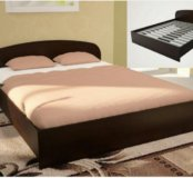 Кровать ЛДСП (А) 1400 мм