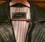 Куртка кожаная мужская Италия