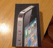 Коробка от iPone 4 16Gb