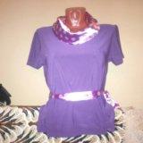 Сиреневая блуза