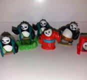 Киндеры из серии Кунфу-панда.