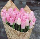 25 тюльпанов разного цвета