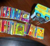 Карточки Скуби-Ду с коробочкой