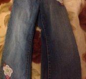 Джинсы для девочки рост 110 см