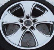 Литье R17 5/114,3 Bridgestone Lowenzahn