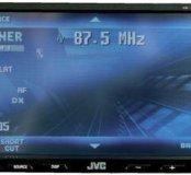 2DIN мультимедийный центр JVC KW-AVX800