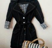 Стильный тренч. Пальто, плащ, вертовка, пиджак