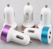 USB зарядка в прикуриватель 2,1А